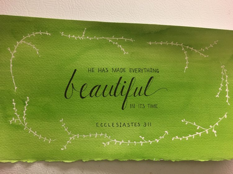 custom watercolor calligraphy services southern california