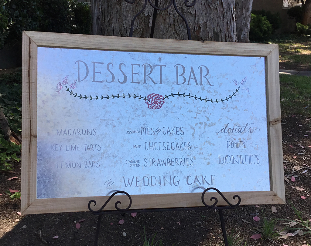 Perfect Sign For Wedding Rental Personalized And Custom